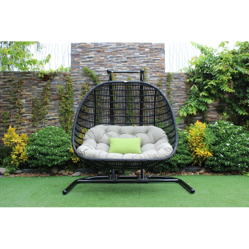Bayou Breeze Greenburgh Outdoor Swing Chair Amp Reviews