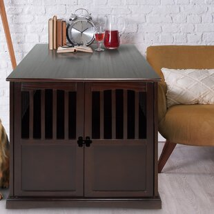 Cayer Pet Crate End Table by Red Barrel Studio