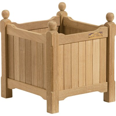 Harpersfield Shorea Wood Planter Box Beachcrest Home Size: 15 H x 15 W x 15 D