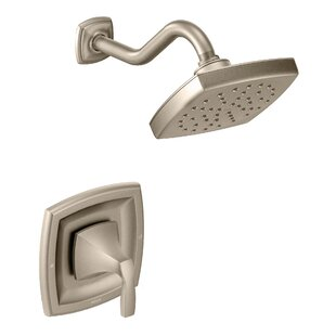 Read Reviews Voss Shower Faucet with Lever Handle and Moentrol ByMoen