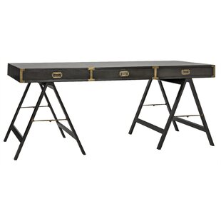 Campaign Reversible Desk by Noir Wonderful