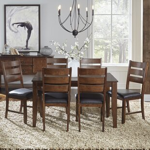 Caracara 7 Piece Extendable Solid Wood Dining Set