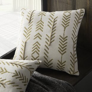 Asher Poly-Filled Cotton Throw Pillow