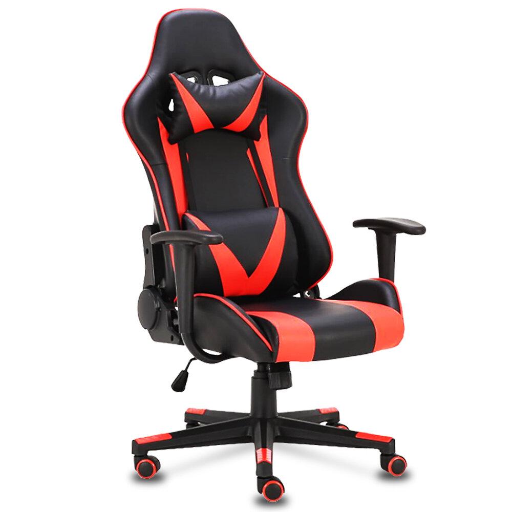 Inbox Zero Massage PC Racing Game Chair | Wayfair
