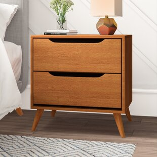 Goree 2 Drawer Nightstand