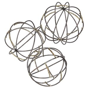 Ambit Spheres Sculpture (Set of 3)