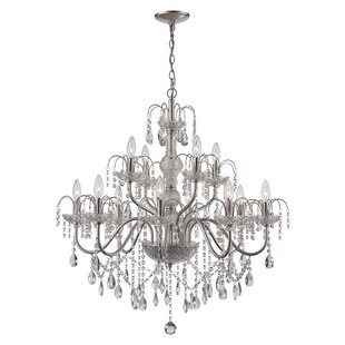 Deveraux 12-Light Candle Style Chandelier By House of Hampton
