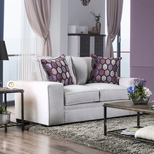Boville Transitional Loveseat by Mercer41 2019 Sale