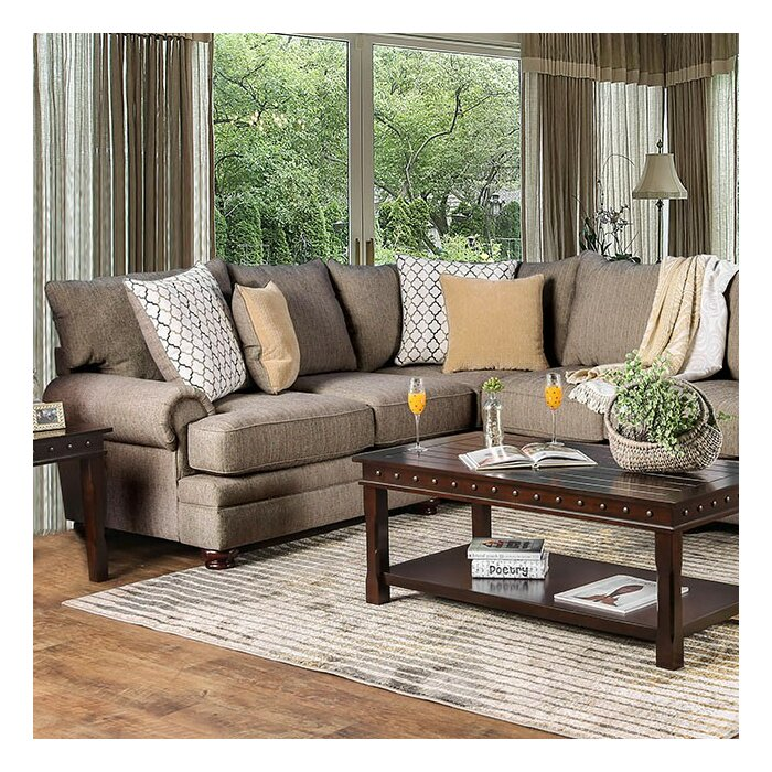 Astonishing Fargo Symmetrical Sectional Pabps2019 Chair Design Images Pabps2019Com