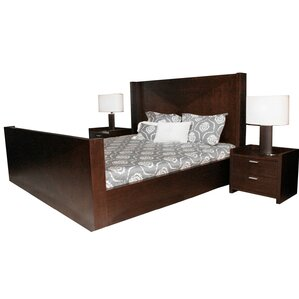 Anmoore King Sleigh Bed by Latitude Run