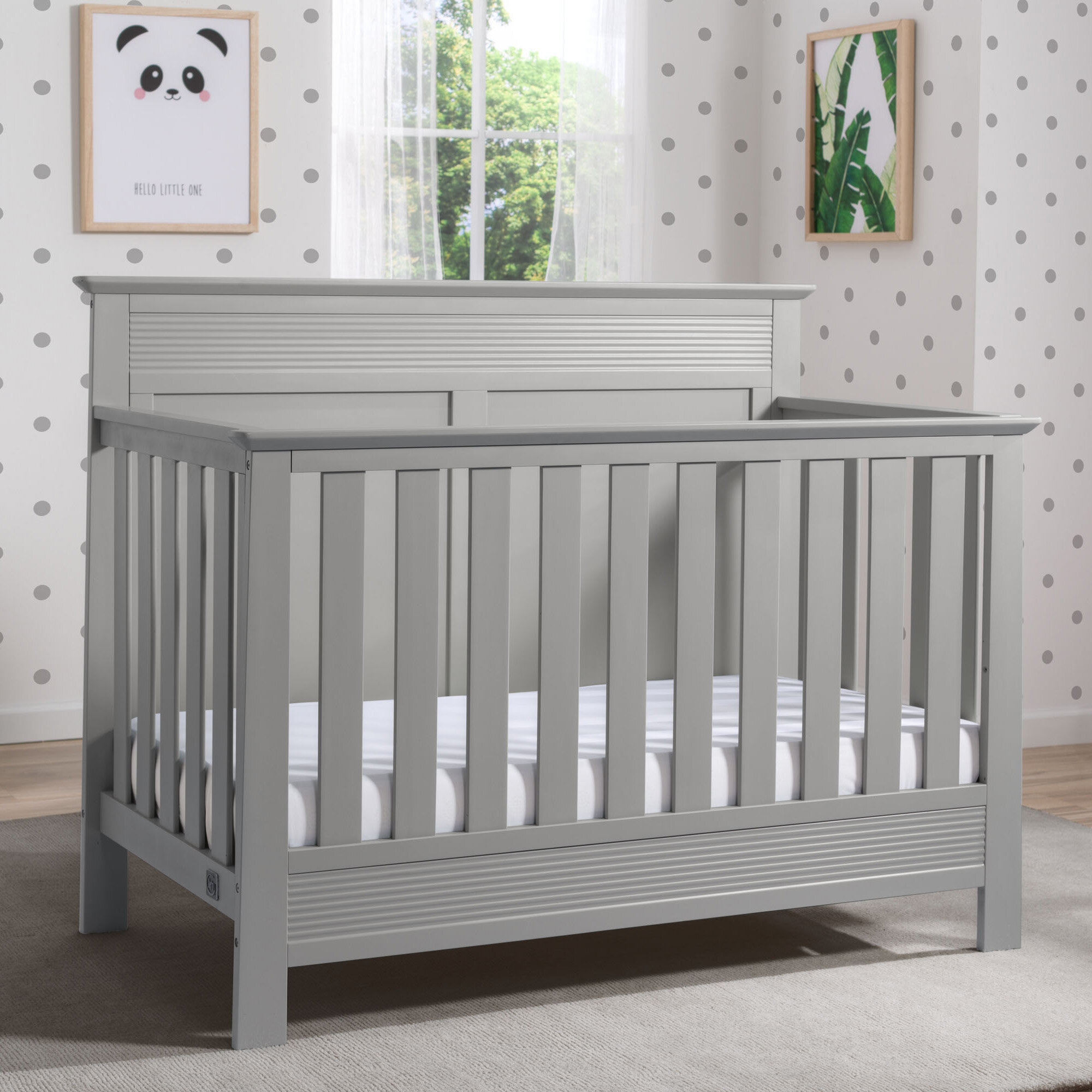 Serta Fall River 4 In 1 Convertible Crib U0026 Reviews | Wayfair