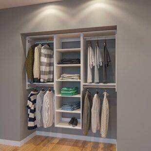 Compare Cornett 72 W Organizer Closet System (Set of 3) By Rebrilliant