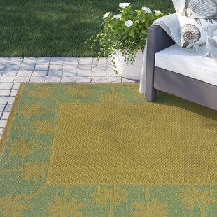 Barham Beige/Green Indoor/Outdoor Area Rug