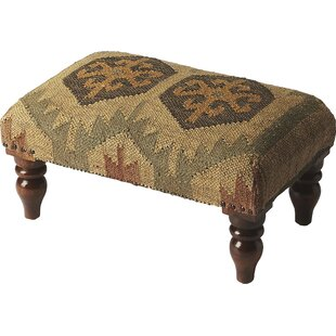 Compare Ptarmigan Berino Jute Vanity Stool By Loon Peak