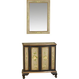 2 Door Accent Cabinet by AA Importing SKU:AA487351 Details