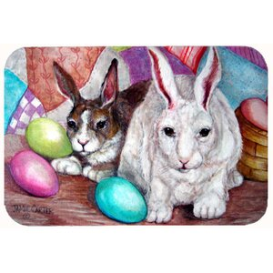 Buddy Buddies Easter Rabbit Kitchen/Bath Mat