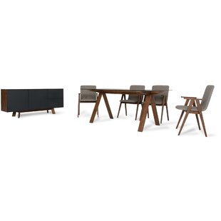 Tuel 8 Piece Dining Set Brayden Studio