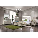 Jaycee Queen 4 Piece Bedroom Set by Rosdorf Park