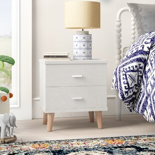 Wallingford 2 Drawer Nightstand by Mistana
