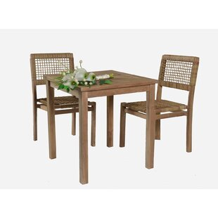 Teak Patio Furniture Youll Love Wayfair - Weathered teak outdoor dining table