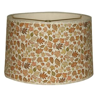 Autumn Leaves Designer Hard Back 10 Paper Drum Lamp Shade