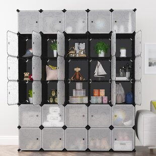 Best Reviews Fortune 16 W Modular Shelving Storage Organizer By Rebrilliant