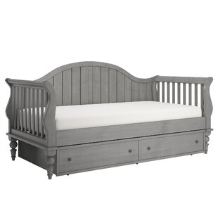 Fort Collins Twin Daybed with Trundle and Toybox Divider by Three Posts