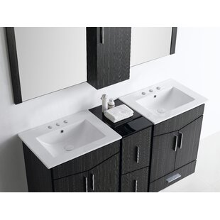 Keels 62 Double Sink Bathroom Vanity by Orren Ellis