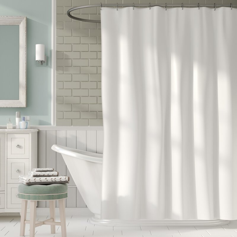 Symple Stuff 2-in-1 Shower Curtain & Reviews | Wayfair