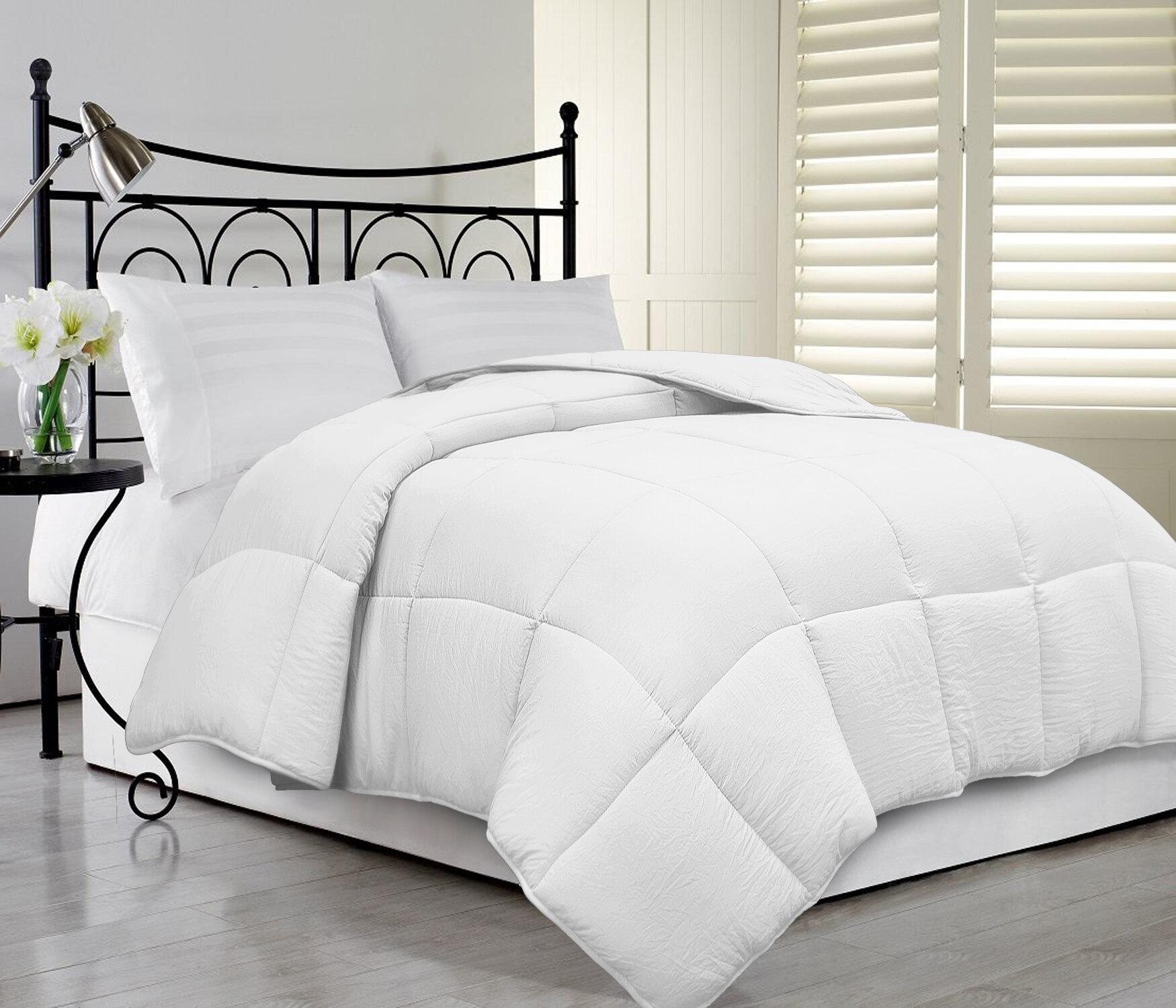 White Noise Ultra Soft Supper Fluffy All Season Down Alternative Comforter Reviews Wayfair