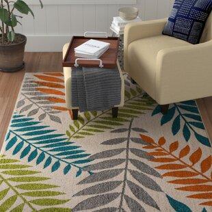 Encarnacion Blue/Green/Orange Indoor/Outdoor Area Rug