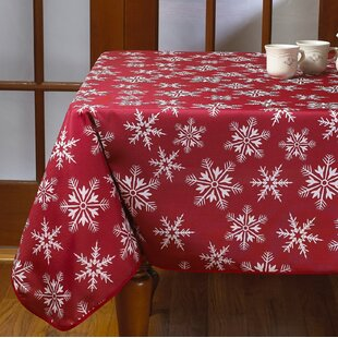 Christmas Tablecloths.Christmas Tablecloths You Ll Love In 2019 Wayfair Ca