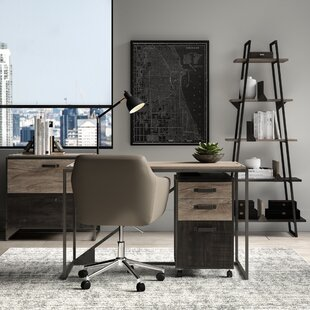 Edgerton 4 Piece Desk Office Suite