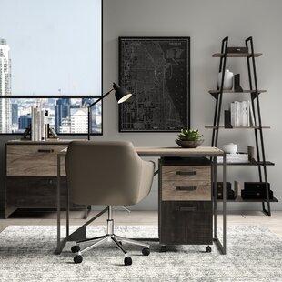 Edgerton 4 Piece Rectangular Desk Office Suite by Greyleigh
