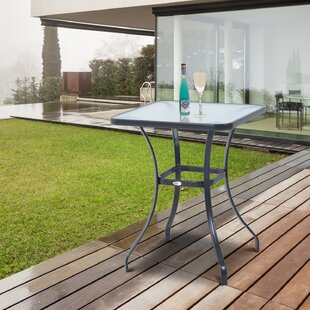 Maeve Powder-Coated Steel Bistro Table