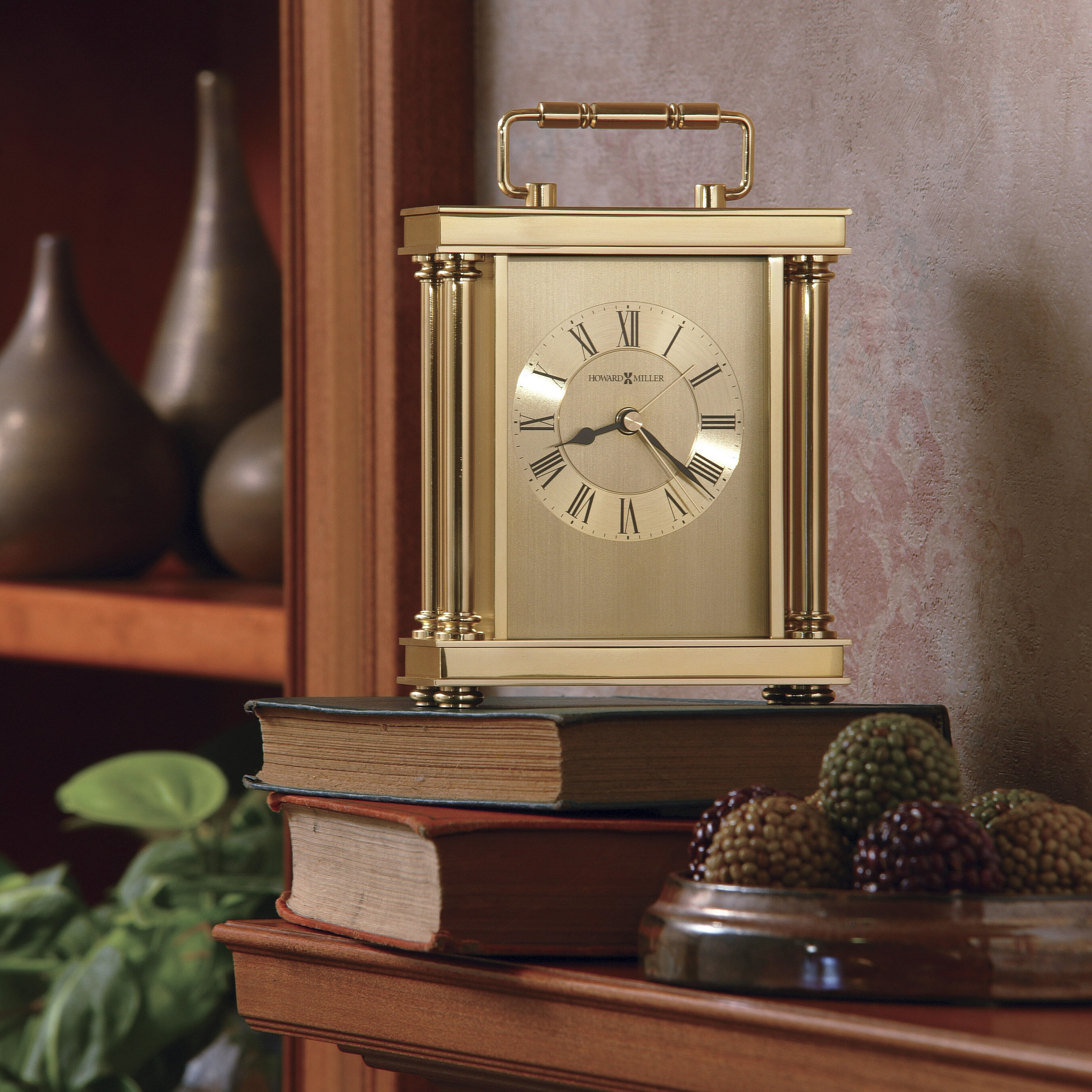 Howard Miller Audra Table Clock U0026 Reviews | Wayfair