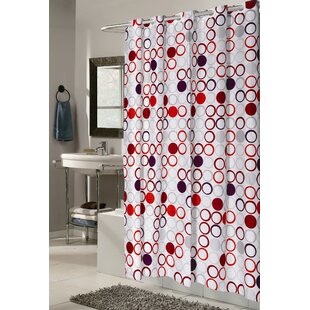 Modern Contemporary 72 X 84 Shower Curtain