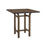 Molto Counter Height Solid Wood Dining Table by Latitude Run