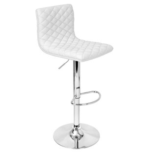 Filipina Adjustable Height Swivel Bar Stool