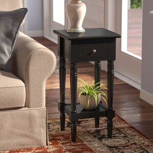 Axtell End Table With Storage� by Three Posts
