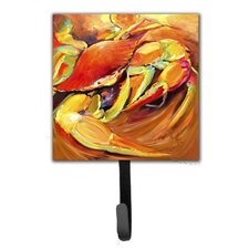 Crab Spice Leash Holder and Wall Hook by Caroline's Treasures