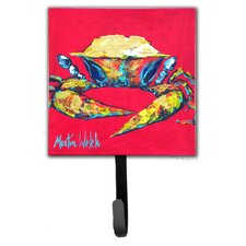 Crab One Leash Holder and Wall Hook by Caroline's Treasures
