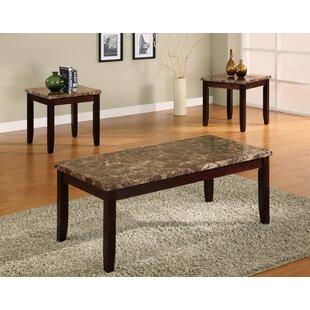 Krikoris 3 Piece Coffee Table Set