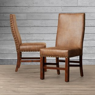 Lyons Upholstered Dining Chair (Set of 2) Loon Peak