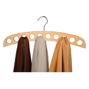 New Style Closet Accessories Imperial 10-Hole Scarf Hanging Organizer By Richards Homewares