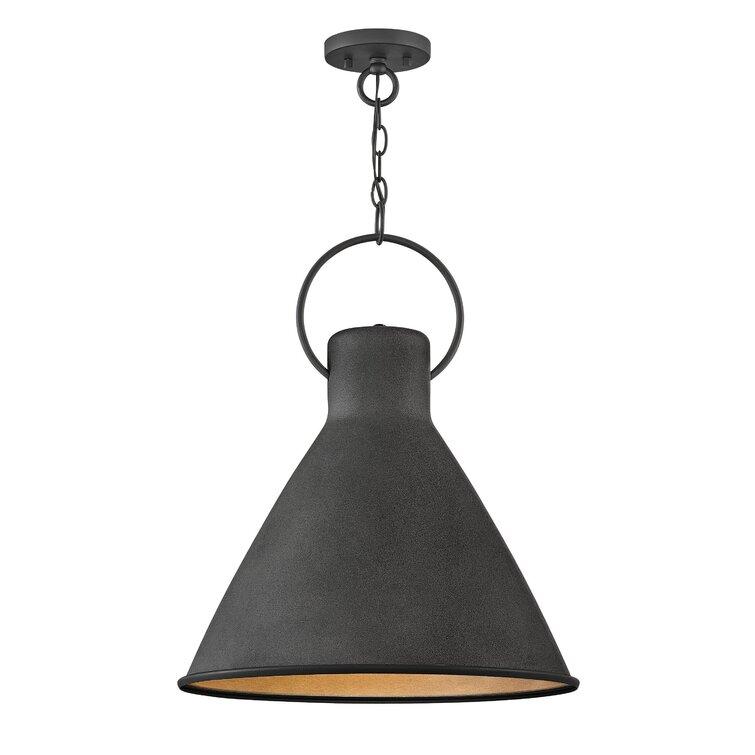 Dexter 1 - Light Single Cone Pendant