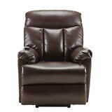 Forelli Faux Leather Power Lift Assist Recliner by Red Barrel Studio®