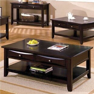 Hubbert Coffee Table with Storage by Ebern Designs
