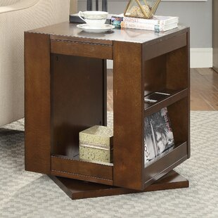 Indira Swivel End Table