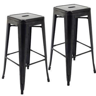 Bargain Norton St Philip 30.3 Bar Stool (Set of 2) By Ebern Designs